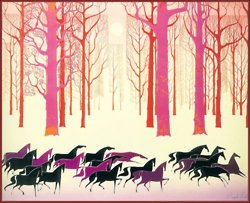 Eyvind Earle illustration