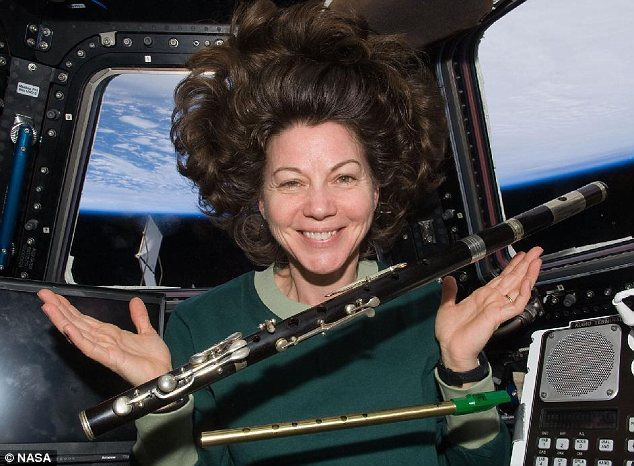 Astronaut Catherine 'Cady' Coleman
