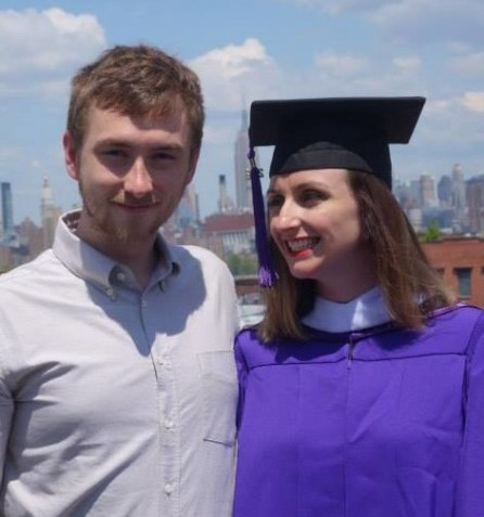 2014 MA Graduation (w my Husband)